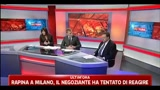 Riccardo De Corato ai microfoni di Skytg 24 Milano