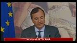 Libia, Frattini: La guerra non è un videogioco