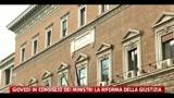 08/03/2011 - Pd consegna a palazzo Chigi firme per dimissioni premier
