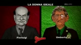 Gli Sgommati, l'intervista doppia di Bossi e Bersani