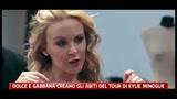 Dolce e Gabbana creano gli abiti del tour di Kylie Minogue