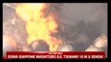 Sisma Giappone magnitudo 8,9, Tsunami 10 metri a Sendai