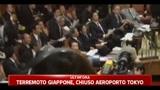 Sisma Giappone,  trema il parlamento