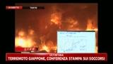 Terremoto Giappone, conferenza stampa sui socccorsi