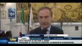Petrucci, Inno d'Italia in tutti i palazzetti