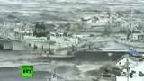 Tsunami Giappone, LiveLeak: il porto di Sendai