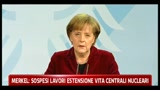 Angela Merkel, sospesi lavori estensione vita centrali nucleari