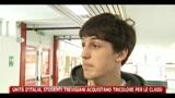 Unità d'Italia, studenti trevigiani acquistano tricolore per le classi