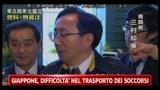 Giappone, difficoltà nel trasporto dei soccorsi
