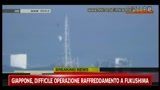 Giappone, elicotteri scaricano acqua su reattori Fukushima