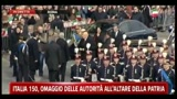 17/03/2011 - Italia 150, l'omaggio di Napolitano all'altare della patria
