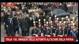 17/03/2011 - Italia 150, l'omaggio di Napolitano all'altare della patria