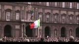 Italia 150, Napoli in festa canta l'inno di Mameli