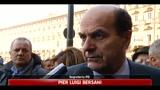 Libia, Bersani sulla risoluzione Onu