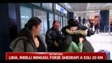 Giappone, rientrati alcuni italiani a Fiumicino