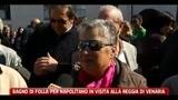 Bagno di folla per Napolitano in visita alla Reggia di Venaria