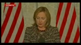1 - Libia, H. Clinton: USA non schiereranno truppe, ma nostro impegno è chiaro