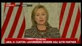 2 - Libia, H. Clinton: scopo della missione è proteggere i civili