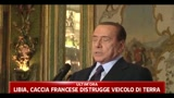 19/03/2011 - Libia, Berlusconi: a disposizione le nostre basi