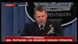 Libia, Pentagono: nostro obiettivo è proteggere i civili