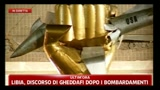 20/03/2011 - Libia, discorso di Gheddafi dopo i bombardamenti