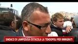 Sindaco di Lampedusa ostacola la tendopoli per immigrati