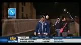 21/03/2011 - Entusiasmo dei tifosi napoletani