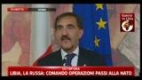Libia, La Russa: ci sarà un pò di riservatezza da parte dei militari