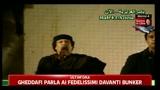 Gheddafi: stiamo subendo un'aggressione ingiusta