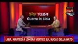 Libia, il Generale Leonardo Tricarico ospite di SkyTG24