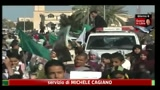 24/03/2011 - Raid aerei a Tripoli, attacco al bunker di Gheddafi