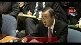 Libia, Ban Ki Moon: gli alleati parlino con una voce sola
