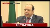 Conferenza stampa Viceministro Esteri libico
