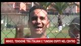 Mineo, tensione tra italiani e tunisini ospiti del centro