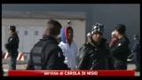 27/03/2011 - Taranto, arrivata la nave San Marco con oltre 500 immigrati