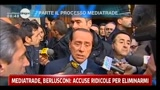 28/03/2011 - Berlusconi, accuse ridicole per eliminarmi