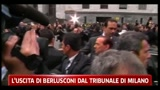 28/03/2011 - Uscita di Berlusconi dal Tribunale di Milano