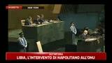 28/03/2011 - Libia, l'intervento di Napolitano all' Onu