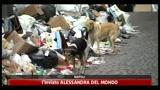 Caos rifiuti, oltre 3.500 tonnellate tra Napoli e provincia