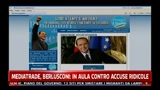 29/03/2011 - Mediatrade, Berlusconi: in aula contro accuse ridicole
