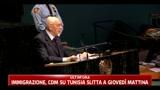 Napolitano richiama l'Europa sul problema immigrazione