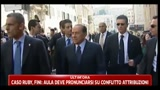 30/03/2011 - Immigrati, Bossi attacca, Berlusconi li difende