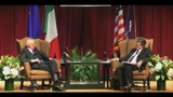 30/03/2011 - Napolitano: in talia c'è iper partigianeria, guerriglia quotidiana