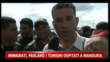 30/03/2011 - Immigrati, parlano i tunisini ospitati a Manduria