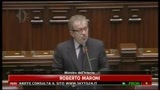 30/03/2011 - Lampedusa, Roberto Maroni, i dati dell' immigrazione