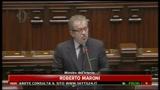 30/03/2011 - Lampedusa, Roberto Maroni, i dati dell' immigrazione