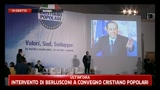 L'intervento di Berlusconi al convegno dei Cristiano Popolari