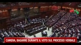 Camera, Bagarre durante il voto sul processo verbale