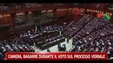 Camera, Bagarre durante il voto sul processo verbale