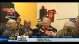 Roma, DiBenedetto fa festa con i tifosi di Testaccio